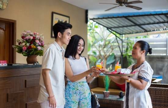 Ketewel, Indonesia: Welcome Drinks upon arrival