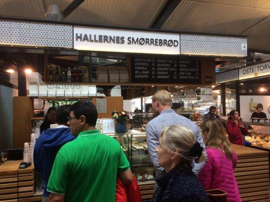 Kongens Lyngby, เดนมาร์ก: Hallernes Smorrebrod