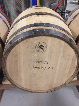Perth, Canada: 1st barrel of Top Shelf Distillers Canadian Whisky to be opened Jjanuary 2019