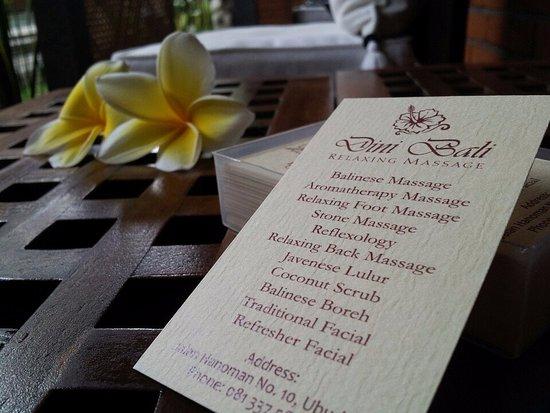 Dini Bali Spa