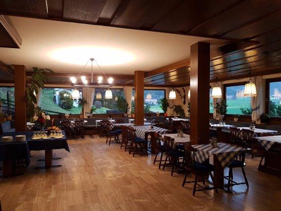 Oberwossen, Tyskland: A reggeli helyszíne
