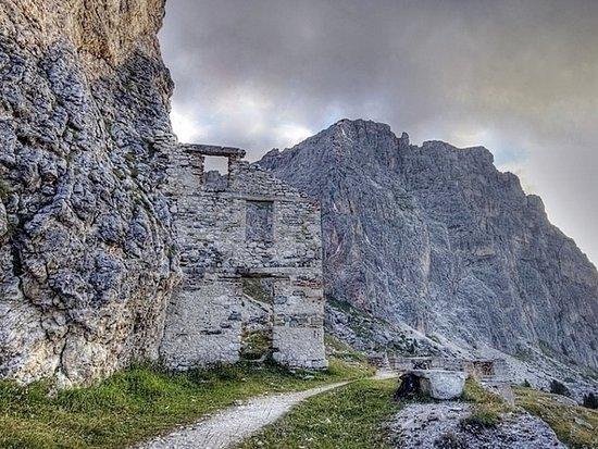 Cortina d'Ampezzo, Italia: Resti degli Ospedali di guerra