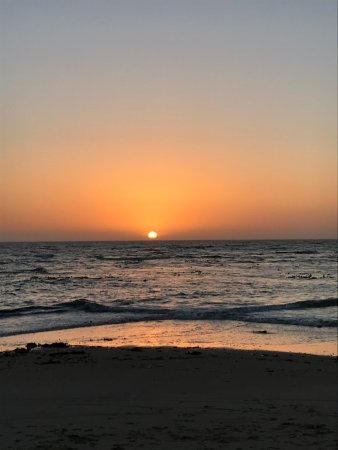 Beach Hotel Swakopmund: Nothing beats an African Swakop sunset