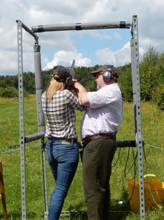 Royal Tunbridge Wells, UK: Clay shooting lesson