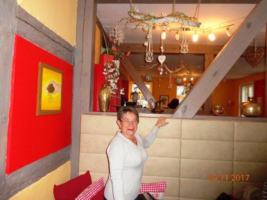 Ueckermunde, Niemcy: Piękna stylowa kawiarenka.