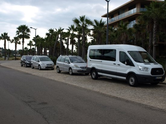 Silves, Portugal: Some cars from our fleet