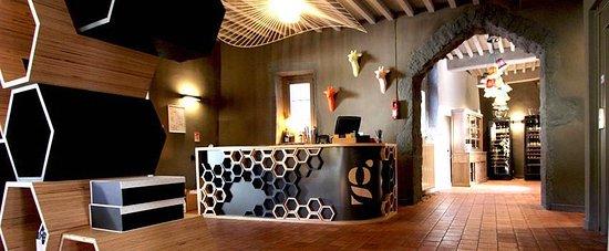 St-Chamond, Frankrike: Bienvenue dans la Girafe dans la Maison des Chanoines