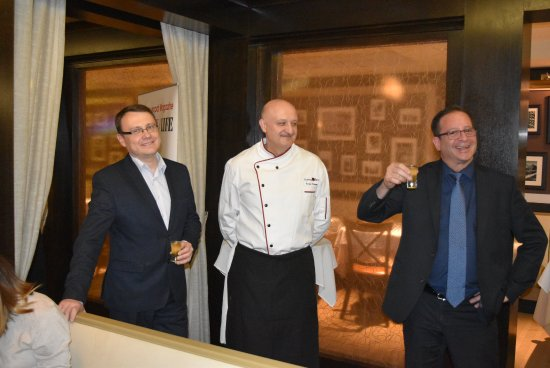 Chicago Grill & Bar : The Sommelier, Executive Chef and Manager