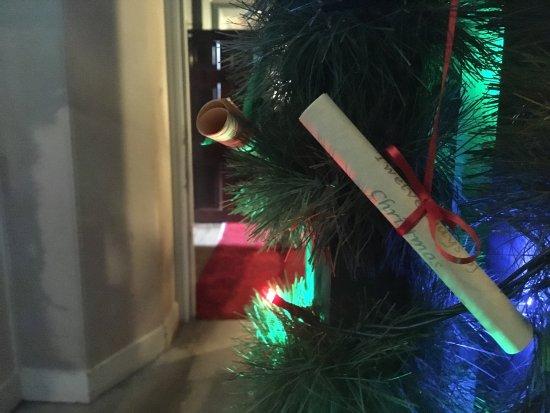 Knutsford, UK: Christmas Tree