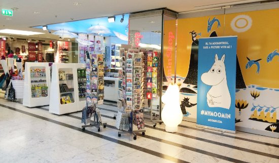 Moomin Shop Forum, shopfront