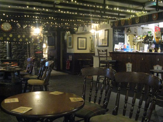 Congresbury, UK: Cosy interior at the Old Inn