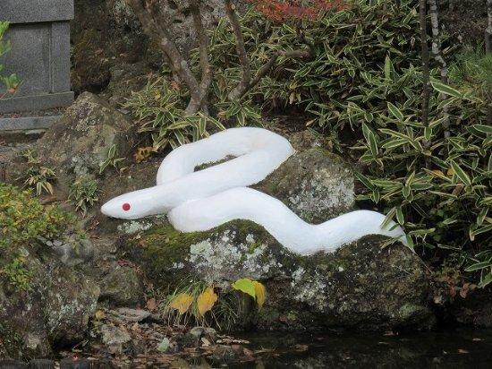 弁財天 白蛇