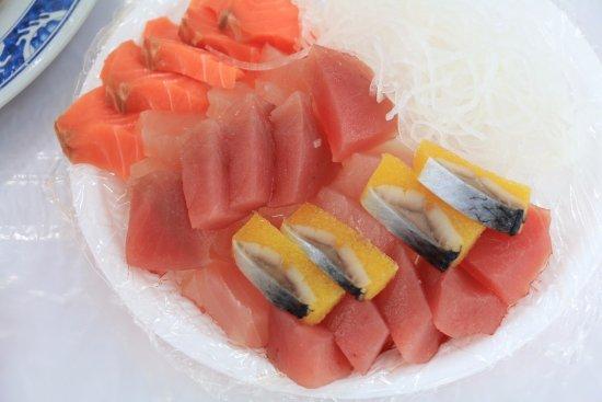 A Hui Sashimi: 生魚片