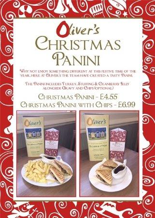 #CHRISTMAS PANINI!! @OLIVERS REDCAR #RESTAURANT!