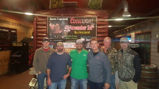 Central Station Bar & Grill: Bill Jordan the creator of Real Tree has been regular for the last 8 years. Thank you!!