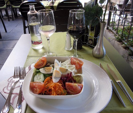 Gallio Ristorante: a large and tasty salad