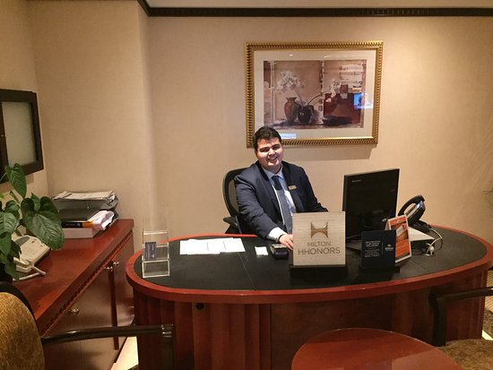 Attractive Hilton Sharjah: Mohammad Talal One Of A Kind With Big Smile And Harry To  Help