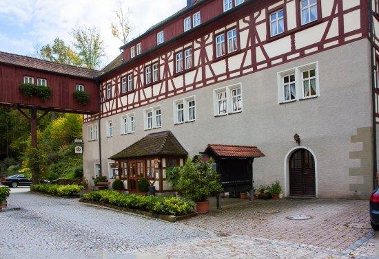 Burgbernheim, Γερμανία: Hauptgebäude außen