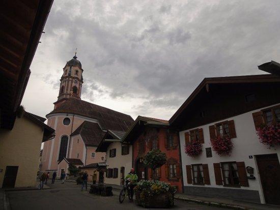 Mittenwalde, Alemania: 미텐발트 바이올린 박물관 앞