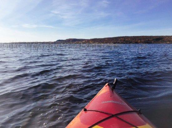 Bergland, MI: Paddling lovely Lake Gogebic