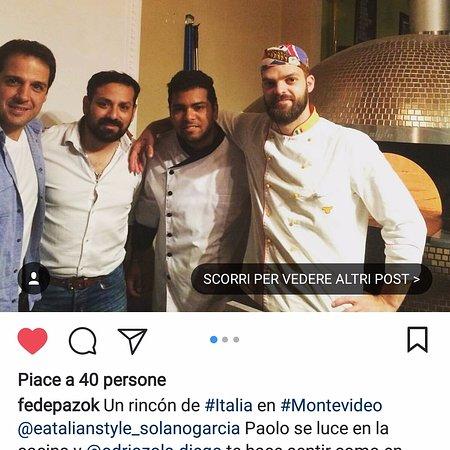 Eatalian Style: el nuestro equipo y chef Paolo.