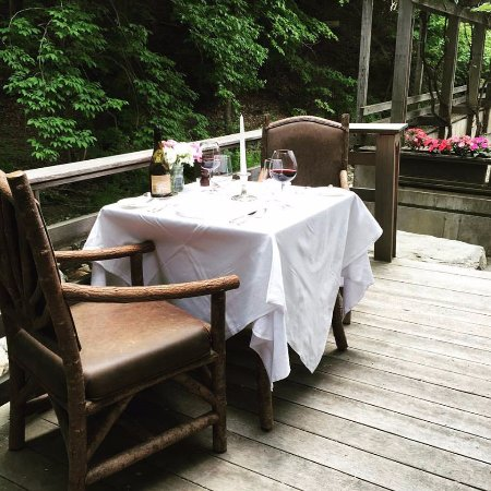 Warren, VT: Outside Dining
