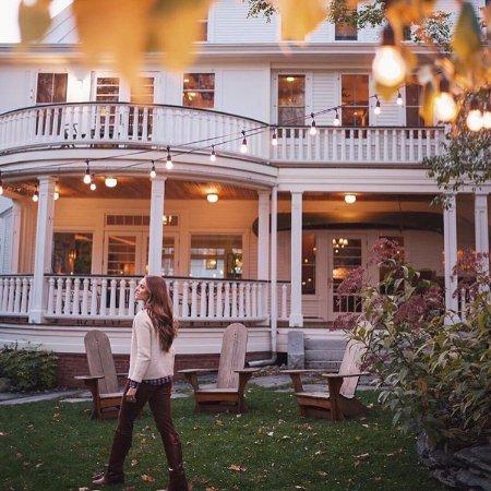 Warren, VT: Back of Main Inn