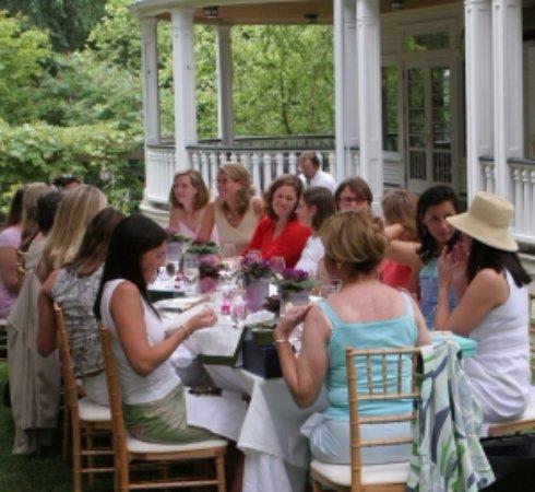 Warren, VT: Dining out Back