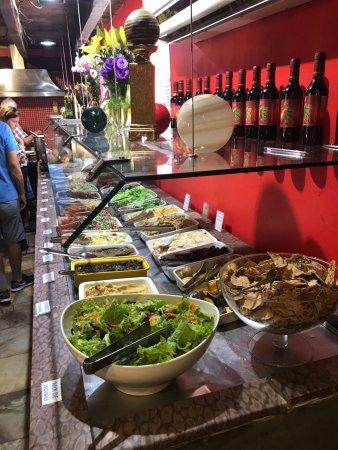 Refeitório Orgânico: Lunch buffet