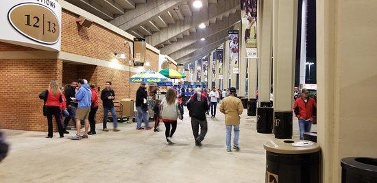 BB&T Field: East side concourse