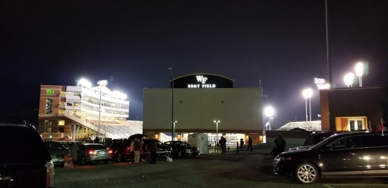 BB&T Field: from the south