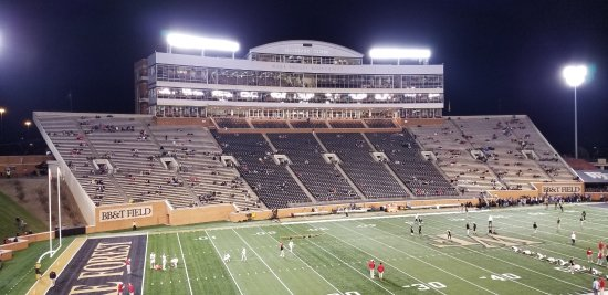 BB&T Field: West stands before the game