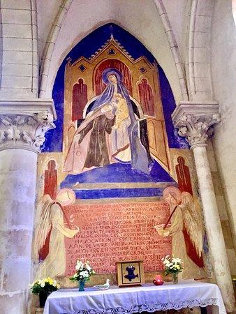 L eglise sainte therese et sainte jeanne d arc des rocs for Artiste peintre poitiers