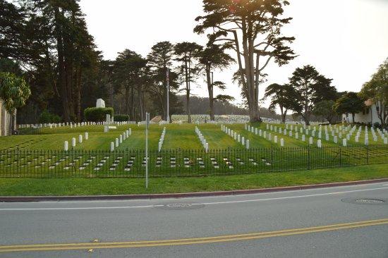 San Bruno, CA: Cemetery view 2