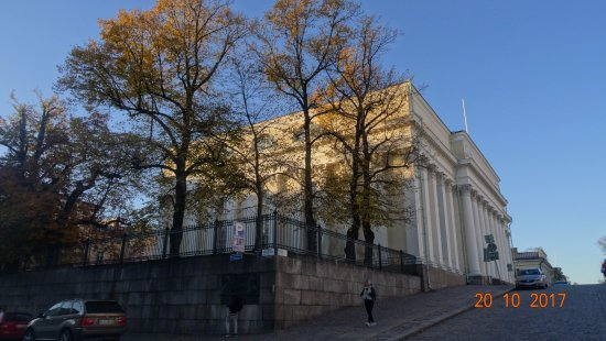 The National Library of Finland: Kansalliskirjasto, 20 октября 2017 года...