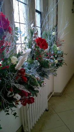 Christmas Arrangements Picture Of Leeds Castle Maidstone - Christmas arrangements