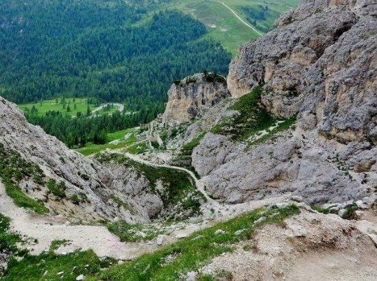 Cortina D'Ampezzo, Italia: Resti della prima guerra mondiale