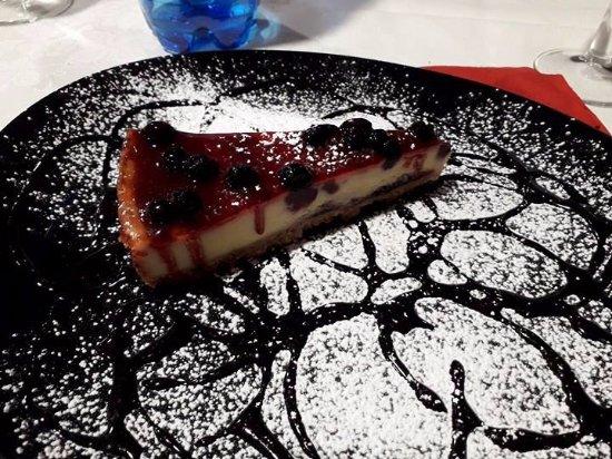 Ossi, Italien: Cheesecake
