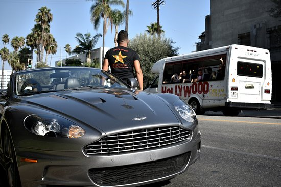 I RIDE LIKE A STAR With Aston Martin Picture Of I Ride Like A Star - Aston martin los angeles