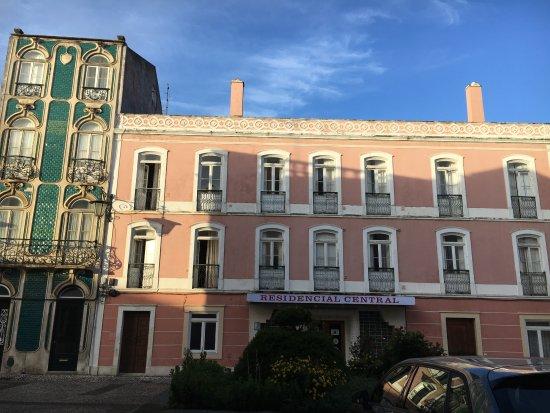 Estremadura, Portugal: hotel entrée
