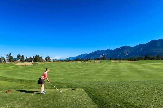 Invermere, Canada: good mix of hole types
