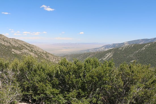 Great Basin Nationalpark, NV: View from Mather Overlook