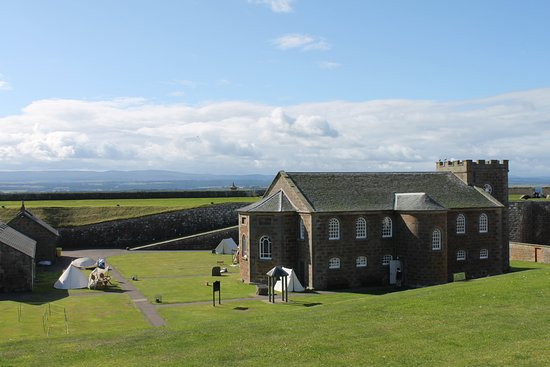 View of Fort George from the exterior wall