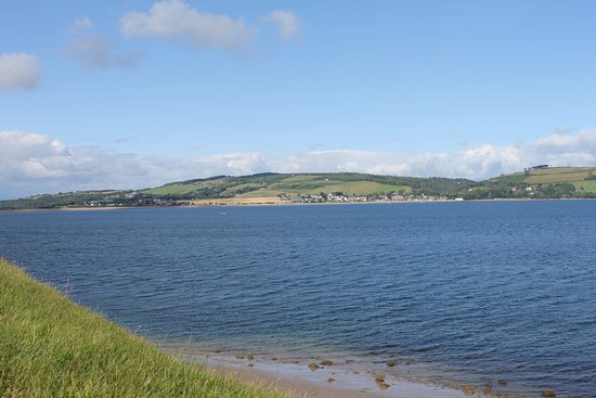Fort George: view Moray Firth