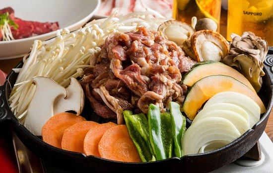 lamb barbecue Sakura Komachi