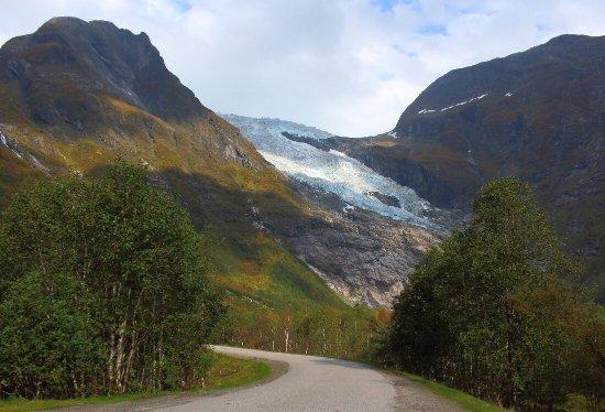 Fjaerland, Norge: Boeyabreen Glacier