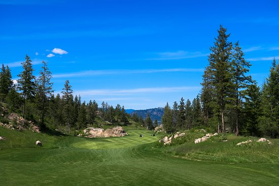 Vernon, Canada: great views and good resort style golfing