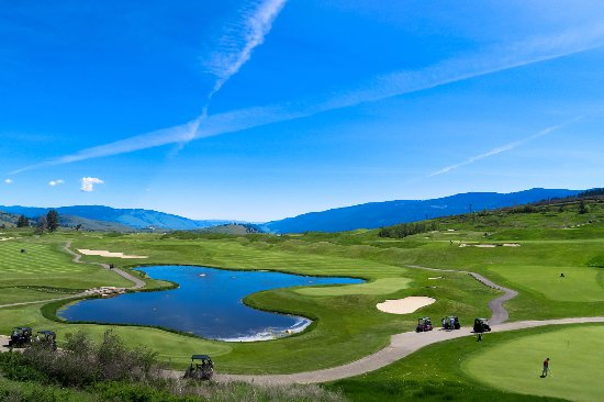 Vernon, Canadá: great views and good resort style golfing