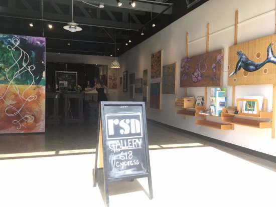 Resin Art and Photography Gallery: A peek inside the gallery
