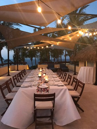 Four Seasons Resort Punta Mita: Terrace Dinner for a private dinner